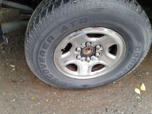 Axle, rims ,lights and bump  1999-04 Sierra or Silverado