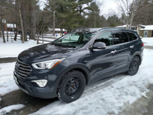 2016 Hyundai Santa Fe XL Limited AWD with Adventure package