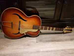 Vintage Isana Archtop Guitar