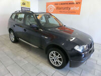 2006 BMW X3 2.0d ( 148BHP ) FULL LEATHER ***BUY FOR ONLY £21 PER WEEK***