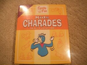 Brand New Kids Charades Game Ages 8+