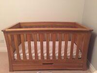 Mamas & Papas Ocean Furniture x 3 cot/wardrobe/changing drawers
