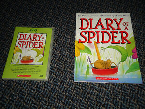 Diary of a Spider HARD cover book and DVD Set