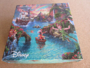 Disney Collection Peter Pan Puzzle Thomas Kinkade 750 pcs