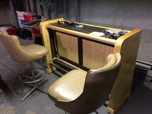 Pool table and bar for sale