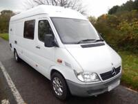 Mercedes Sprinter 313 LWB 2 Berth Centre Dinette Motorhome For Sale
