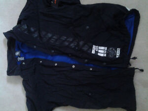 Brand New with Tags Black rainproof DKNY jacket $40!!!