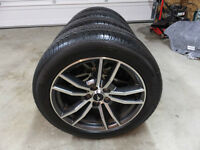 Brand New 2015 Mustang wheel and Pirelli Tires