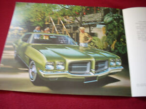 1971 GTO, LeMans Sport sales brochure Peterborough Peterborough Area image 5