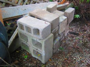 Assorted Cinder Blocks