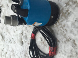 Powerful submersible pump