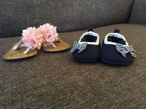 Newborn shoes and Sandals // Soulier nouveau-né et sandales