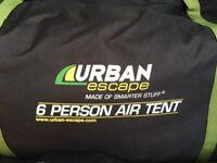 Urban escape 6 man AIR tent