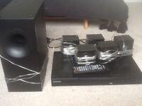 Samsung Surround Sound system.