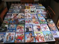 ASSORTED MOVIES AND CD'S