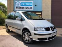2003 SEAT ALHAMBRA 1.9 TDI S 7 SEATER MANUAL, ONLY 1 PREVIOUS OWNER!