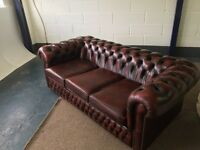 Chesterfield 3 seater settee
