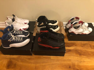 AJ 8,12,13,14 and Rookie zoom for sell