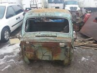 SOLID WESTERN 1951 MERCURY CAB AND FRONT CLIP