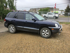 2005 Hyundai Santa Fe SUV, Crossover low km inspection done