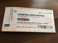 Liverpool Disco Festival Saturday 29th October 2016