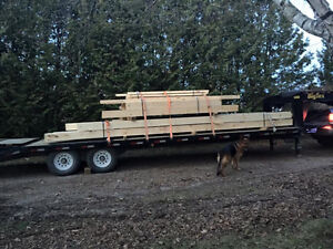 Enclosed & Flatbed Truck/Trailer For Hire