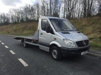 MERCEDES SPRINTER RECOVERY TRUCK 2.1 DIESEL AUTOMATIC 17FT BED NEW WINCH
