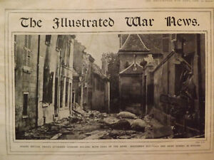 TWO COPIES OF THE ILLUSTRATED WAR NEWS FROM 1914- WWI Peterborough Peterborough Area image 1