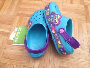 LIGHT UP CROCS SIZE 2 NEW
