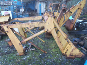 loader and backhoe attachments