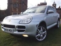OFFERS 2005 PORSCHE CAYENNE 3.2 V6 S AUTOMATIC SATNAV FULL HEATED LEATHERS NOT X5 Q5 X3 X1 X6 Q7 Q5