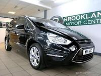 Ford S-Max 2.0TDCI TITANIUM 163PS [4X SERVICES, DAB RADIO and 17