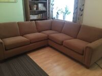 Mark & spencer Large corner sofa + 3 seater sofa VERY GOOD COND
