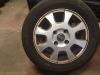 Volvo s40 alloy wheels 4 set