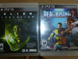 PS3 Games - Various, Used, Excellent Condition