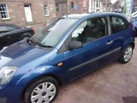 FORD FIESTA 1.2 style climate 2007 Petrol Manual in Blue