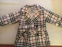 Burberry girls coat
