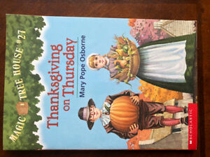 Magic Tree House book # 27 Thanksgiving on Thursday-NEW