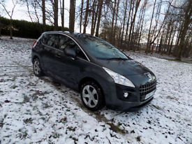 2010 Peugeot 3008 Crossover 1.6HDi ( 110bhp ) FAP 6sp Sport netherton cars