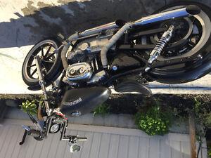 2002 Harley bobber   Brand new motor !   Trade for bagger only