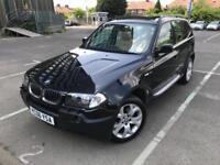 2006 (06) BMW X3 3.0 i Sport 4x4 5dr 6 Months Warranty Included