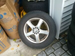 Firestone winter tires on universal rims