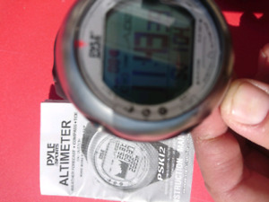 Pyle Sports Altimeter SKYDIVING watch