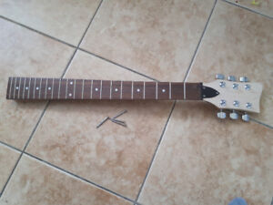 Guitar neck w/ tuners