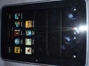 Kindle Fire and BlackBerry PlayBook Tablets