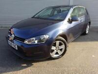 VOLKSWAGEN GOLF 1.6 MATCH TDI AUTO GOOD AND BAD CREDIT CAR FINANCE AVAILABLE