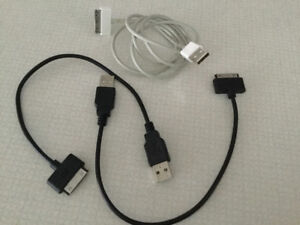 IPad cables - type with larger connector end