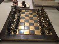 vintage chess set - amazing quality and detail