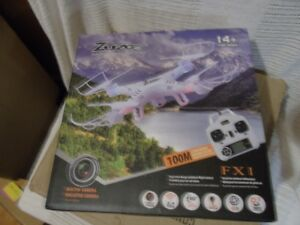 Brand New In Box Zuzo 6 axis Quadcopter Drone Built in Camera