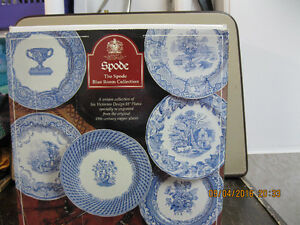 SPODE THE BLUE ROOM  COLLECTION  BOX  OF  6